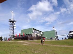 Medvědín - horní stanice lanovky