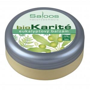 Bio Karité eukalyptový balzám Saloos.