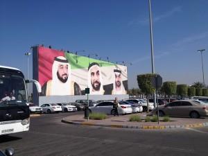 Spojené arabské emiráty. Vládcové.