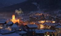 Rakousko, Kaprun v noci.