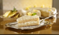 Rychlý, jednoduchý na přípravu a lahodný je tento Ananasový dort. Foto: Dr.Oetker