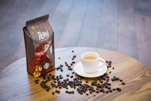 Jedinečná zrnková káva Perú Cusco.