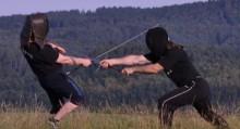šerm dlouhým mečem - škola šermu Digladior