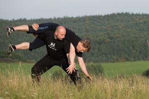 škola evropských bojových umění Digladior - zápas