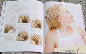 Ukázka z knihy Účesy pro princezny