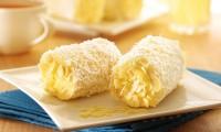 Rafaelo roládky - luxusní cukroví nebo malý dortík na oslavu.