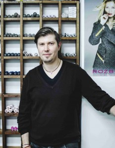 Módní návrhář Richard Rozbora.