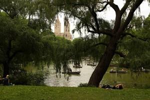 V Central parku nebudete nikdy sami.