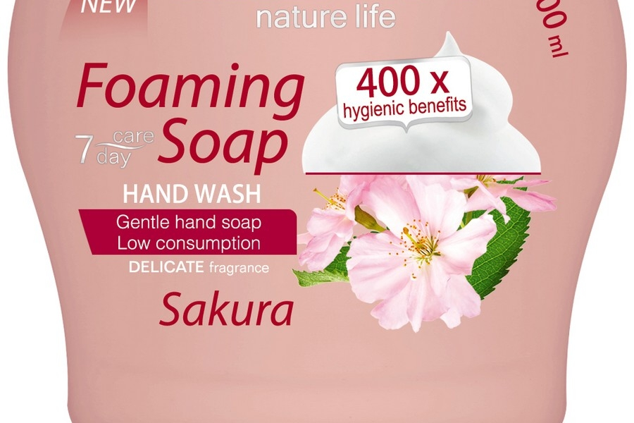 8596048001694 foaming soap Sakura flower 300mlLow_V