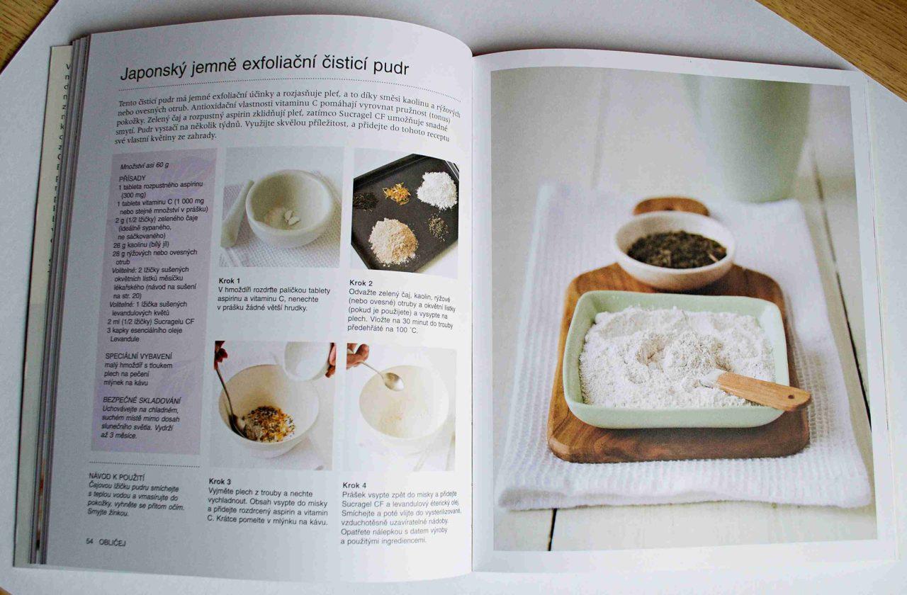 6fee769d1 V knize naleznete 37 receptů a 10 variací na výrobky pro péči o pleť, tělo  i vlasy. Postupy a návody jsou jednoduché, doplněné názornými fotografiemi,  ...