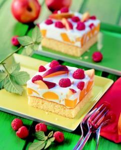 Letní koláč uděláte pomocí Želatinového ztužovače.